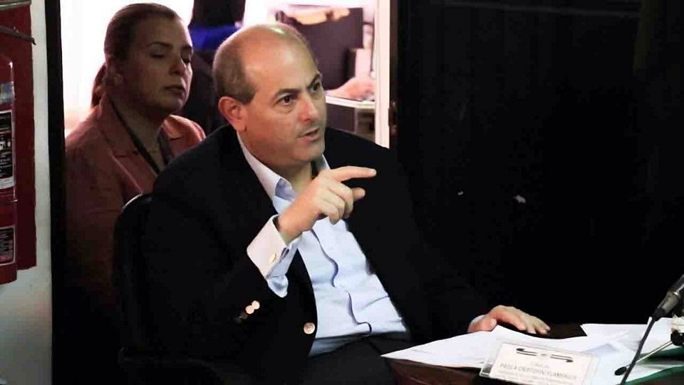 Jose Simon Elarba Haddad - Fospuca ante concejales de El Hatillo
