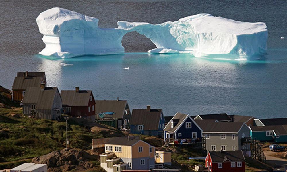 Jose Simon Elarba Deshielo en Groenlandia