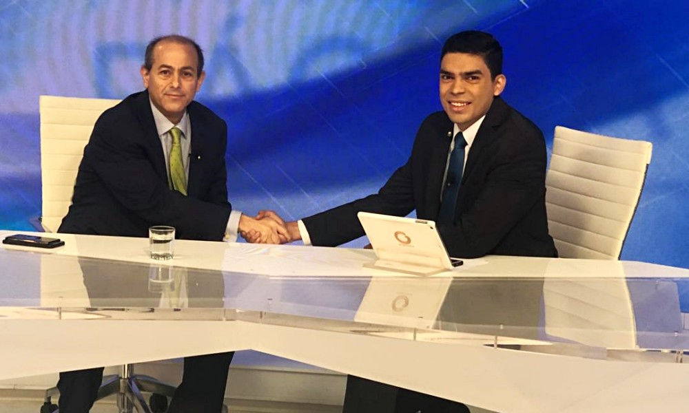 Jose Simon Elarba Haddad Presidente de Fospuca Entrevista en Globovision