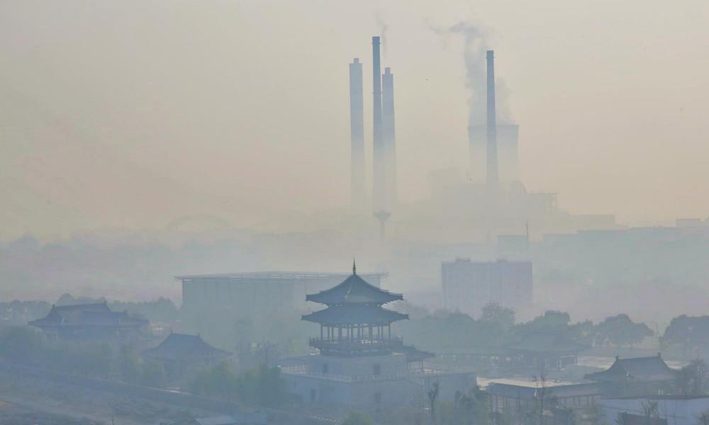 Jose Simon Elarba Haddad China contra la contaminacion industrial