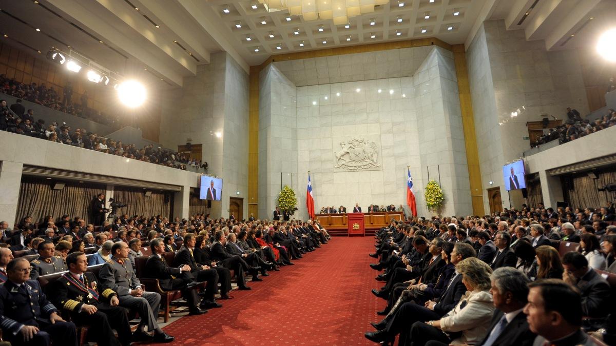 Jose Simon Elarba Haddad Gobierno presenta congreso Chile ley contra cambio climatico