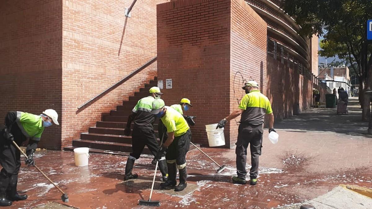 Jose Simon Elarba Haddad Fospuca operativo limpieza Baruta Chacao Covid-19