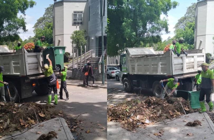 José-Simón-Elarba-Fospuca realiza jornadas de limpieza en Caracas y Margarita
