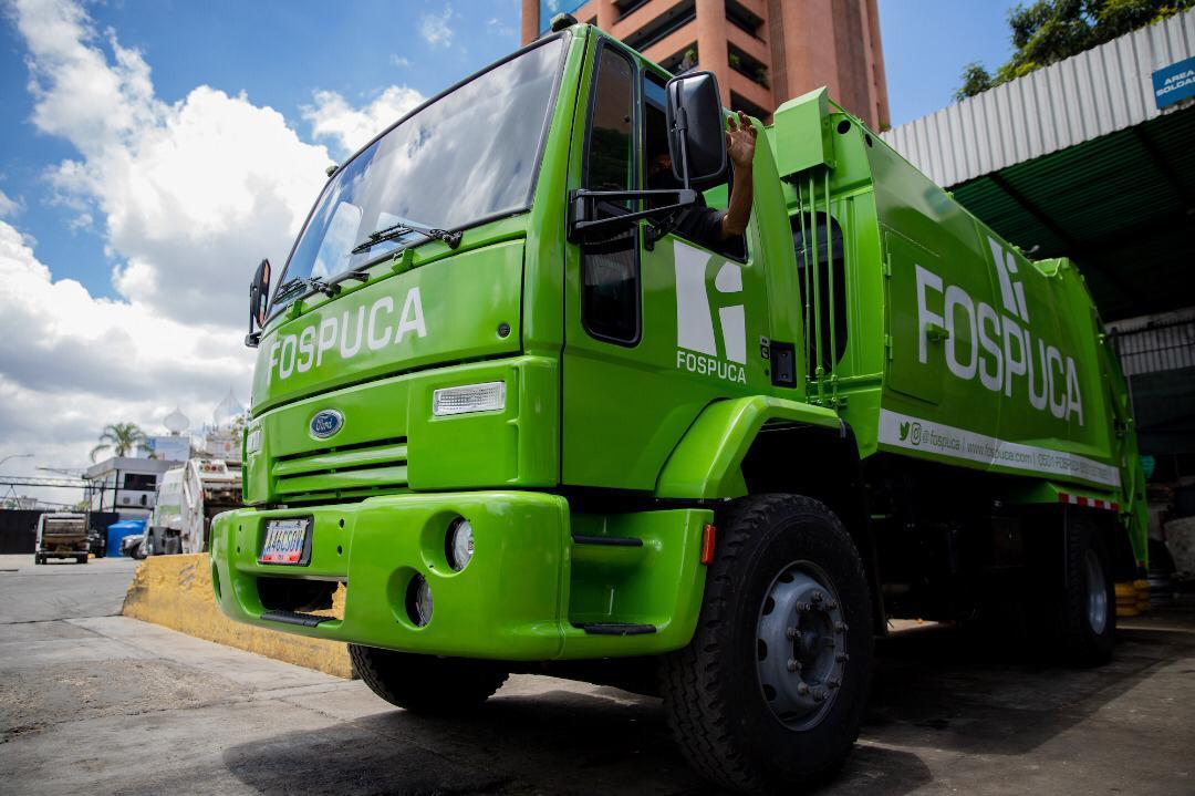 José Elarba- Fospuca cambia la imagen de su flota de camiones