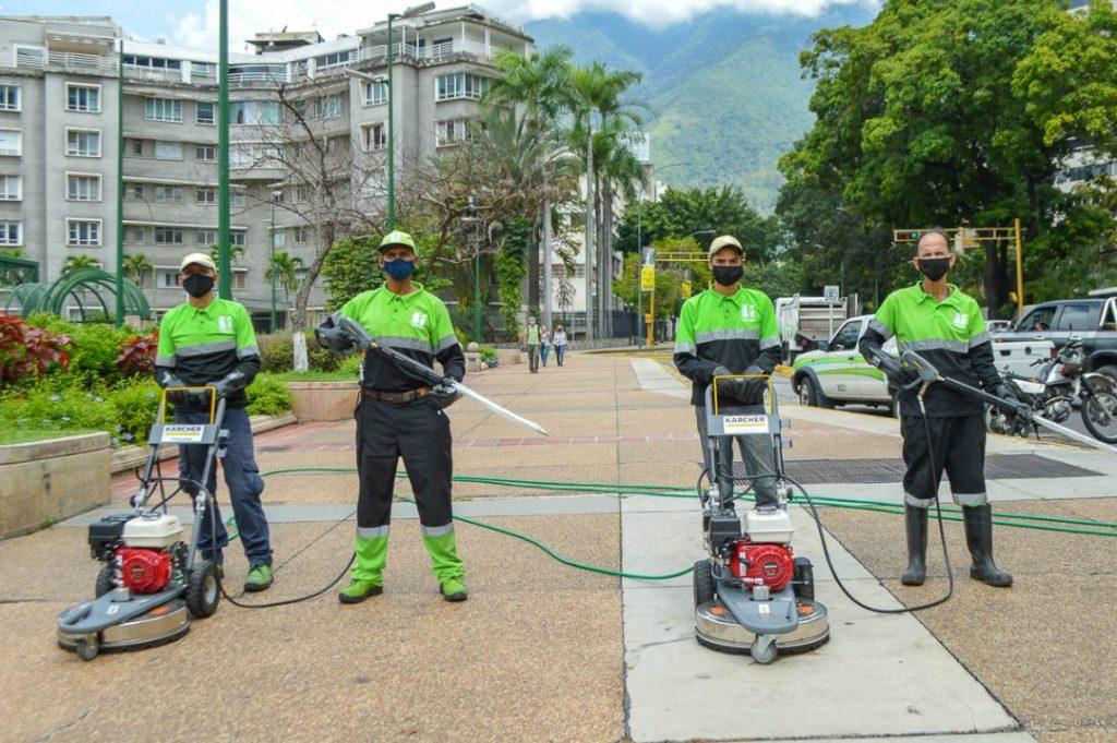 José Simón Elarba- Fospuca moderniza el servicio de limpieza en Chacao- 2