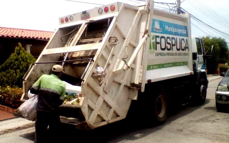 José Elarba- Fospuca apoya tareas de saneamiento ambiental en el municipio Maneiro