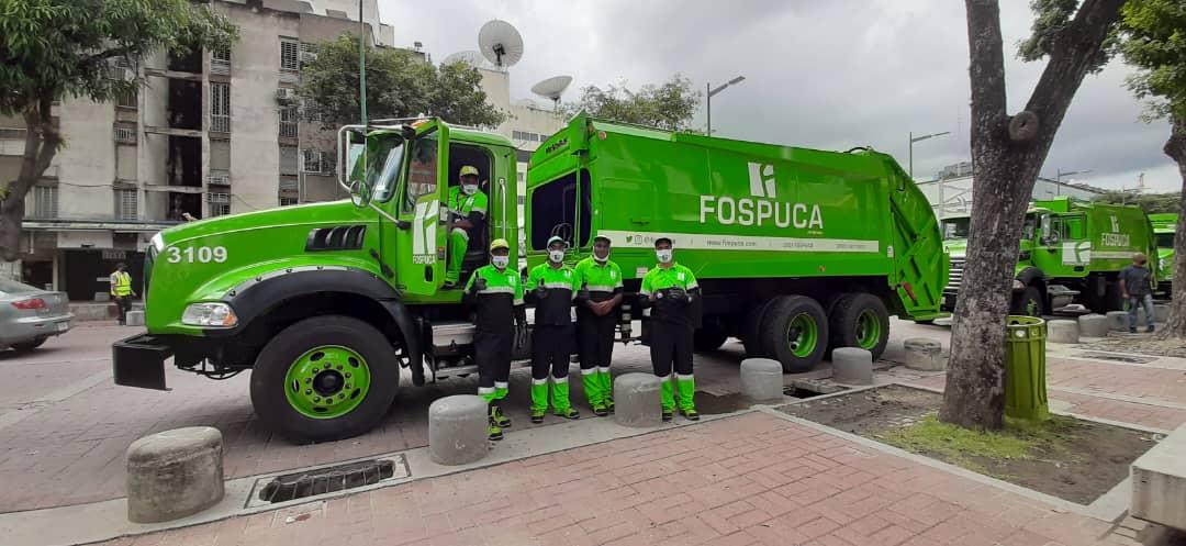 José Simón Elarba - Fospuca presenta nueva flota de camiones y equipos en Baruta