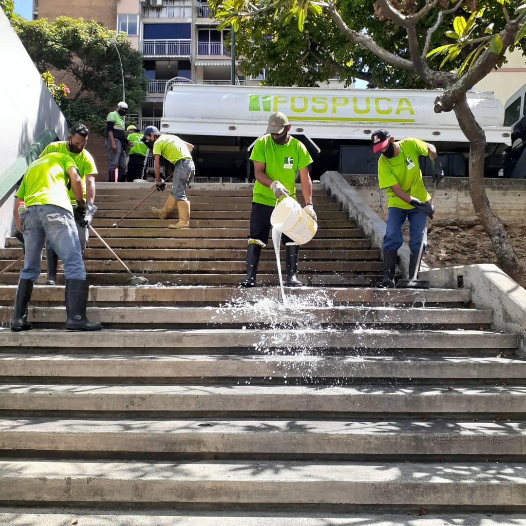 José Simón Elarba- Fospuca redobló esfuerzos para garantizar limpieza de espacios públicos en Carnaval