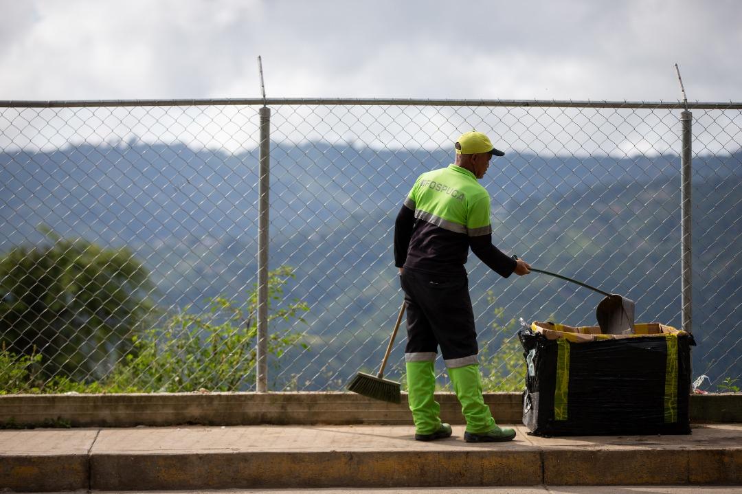 José Elarba- Fospuca intensificó sus operativos de limpieza durante la semana flexible